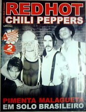 RED HOT CHILI PEPPERS MAGAZINE POSTER #8 4 LYRICS  2 SUPER POSTERS !