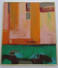 Alan Gise Santa Fe Abstract Expressionist Oil Painting