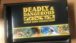 Deadly & Dangerous 2012 $1 Gold Prooflike 6-Coin Collection