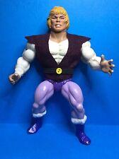 VINTAGE HE-man MOTU MATTEL accessorio-Il Principe Adam's REPRO Borgogna gilet e cintura