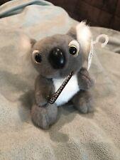 """I Heart Aus� Koala Bear Plush Stuffed Toy 4.5� With His Boomerang"