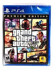 Grand Theft Auto V Gta 5 Premium Edition Ps4 Brand New & Sealed Playstation 4