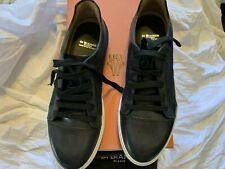 $ 595 New Unique Di Bianco Scarpe Tennis shoes Size 10 Handcrafted In Italy
