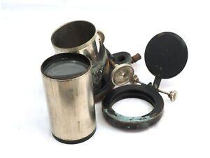 Projector Lens probably Emil Busch Rathenow+focusing mechanism,magic lantern