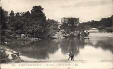 Hampstead Heath.The Pond, Vale of Health # 679 by LL / Levy. Black & White