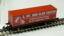 Container Car 6. Int. Mini Club Treffen 1998 in Speyer by Marklin Z 8615