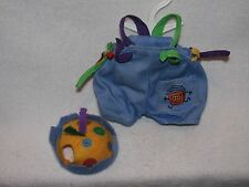 "Tagged Muffy VanderBear Jean Overalls & Hat Called ""What The Password"" 1994"