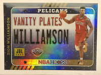 2020-21 NBA Hoops RARE WINTER HOLO FOIL PARALLEL #1 ZION WILLIAMSON  -PSA READY!