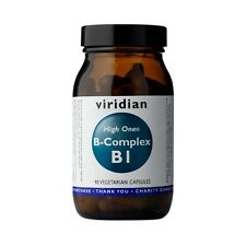 Viridian HIGH ONE Vitamin B1 with B-Complex, 90 Veg Caps
