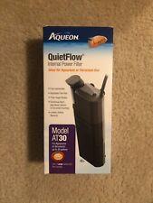 Aqueon AT30 QuietFow Internal Power Filter  Ideal for Aquarium or Terrarium Use