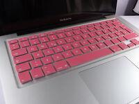 SILIKON Abdeckung Tastatur SCHUTZ MacBook Air Pro QWERTZ Pink