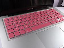 SILIKON Abdeckung Tastatur SCHUTZ MacBook Air Pro QWERTZ Pink NEU