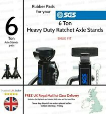 2x Rubber Pads for your SGS 3 Ton Heavy Duty Ratchet Axle Stands - Snug Fitting