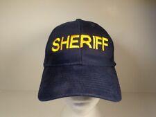 SHERIFF CAP HAT -  DYNA CORP INTERNATIONAL
