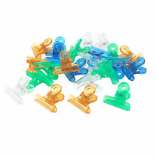 Sourcingmap Plastic Office Stationery Documents Binder Clips - Multi-Colour Pac