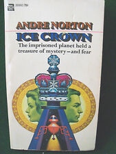 Andre Norton Ice Crown Fantasy Ace English Paperback Book 1970 Print