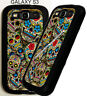 FOR Samsung Galaxy s3 s4 s5 Note 4 Sugar Skulls D1 Phone Case Cover pu Dead Day