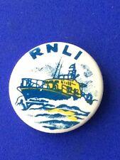 Vintage RNLI Lifeboat Badge Button Pin.