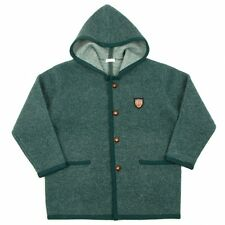 Papas Compression wool hooded half coat Size M(K-33771)
