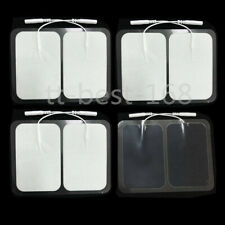 8x Large Replacement Electrode Pads Adhesive Gel for Tens Unit Muscle Stimulator