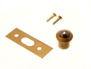 200 x NEW SOLID BRASS BODY ROLLER BALL CATCH AND KEEPER  9MM PLUS SCREWS
