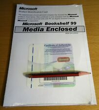 Microsoft Bookshelf 99 ~ New, Sealed