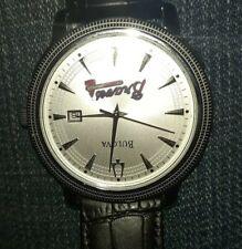 Vintage BULOVA  Automatic Men's Watch Leather