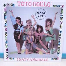 MAXI 45T TOTO COELO Vinyle I EAT CANNIBALS Part I et II - VIRGIN 600680