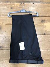 Remus Uomo Salvio Carbón/Negro Pantalones - 38/32 fue £ 50.00