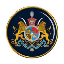 Iran Imperial Coat of Arms Pin Badge