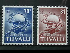 TUVALU '1981 * MH 161/162 YT 4,0 EUR UPU,UNION POSTALE UNIVERSELLE,COMMUNICATION