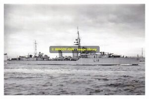rp13509 - Royal Navy Warship - HMS Zulu L18 , built 1938 - photograph 6x4