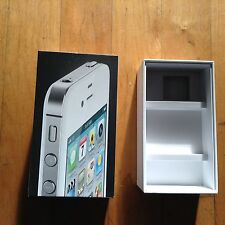 Apple IPhone 4 Empty Box  No phone included (Box Only )