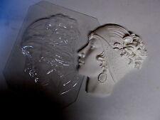 Máscara De Estilo Art Deco Plástico Molde Chocolate Jabón de cera de yeso