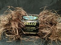 Cello  Sensations Mink Eyelash Yarn 1.75oz 50 Grams 100% Polyester Turkey