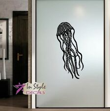 Vinyl Decal Jellyfish Animal Sea Ocean Bathroom Bedroom Art Wall Sticker 2047