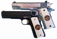 1911 Colt Full Size & Clones With PROUD TO BE AN AMERICAN In Ivory Polymer Grips