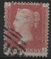 SG43. 1d.Rose-Red Plate 94. Exceptionally Fine Used. Scarce Thus.  Ref 9-54