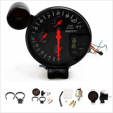4-In-1 Car Water / Oil Temperature Oil-Pressure Gauge Digital Pointer Display 5""