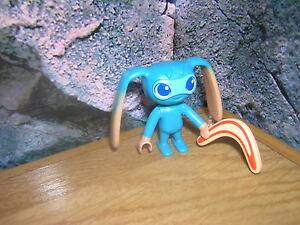 ( A6/2 ) Figur Alien mit Bumerang aus 6687 Super 4 Lost Island
