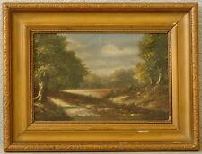 » Romantische Landschaft « Signatur ? ~1900