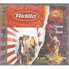 RIDILLO - Ridillove + Ridillive - 2 CD 1998 SIGILLATO SEALED