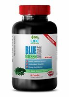 multivitamin superfood  - Organic Blue Green Algae From Klamath Lake 500mg 1B