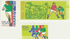 Rugby World Cup 1995 mint set of 3 stamps