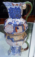 Antico ceramica inglese: Davenport HYDRA Brocca intorno al 1805