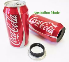 SODA CAN STASH SECRET HIDDEN COMPARTMENT HIDE HERBS AUSSIE MADE COKE