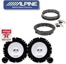 Alpine Lautsprecher Boxen Set für VW Golf 4  Lautsprecher Türen vorne hinten