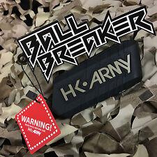 New Hk Army Ball Breaker 2.0 Barrel Cover Sock Plug Condom - Black/Gold