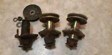 John Deere STX46 38 Set of 3 Mower Deck Spindles Assemblies