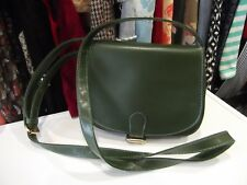 Green Satchel Box Handbag Shoulder Bag by ATMOSPHERE Long Strap Classic